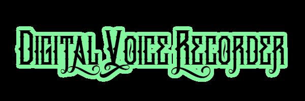 Digital Voice Recorder for Savannah Haunted Tours