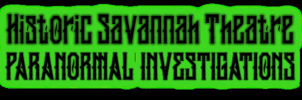 Savannah Theatre Paranormal Investigationr